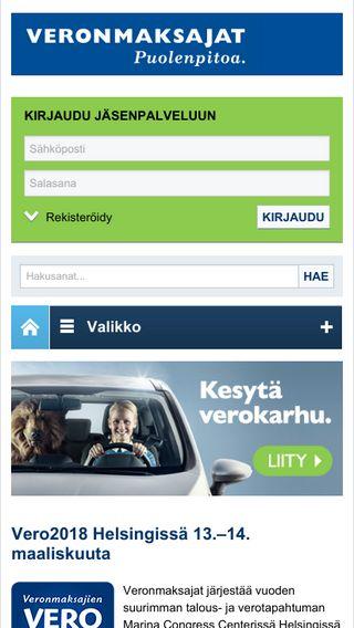 Mobile preview of veronmaksajat.fi