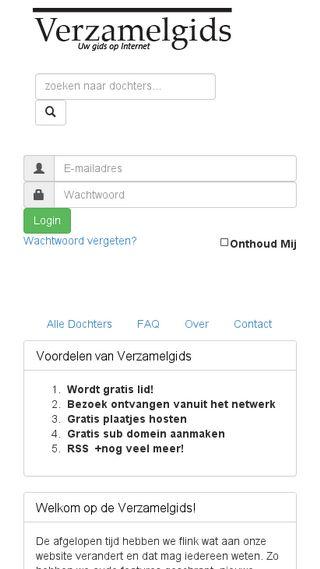 Mobile preview of bedandbreakfast.verzamelgids.nl
