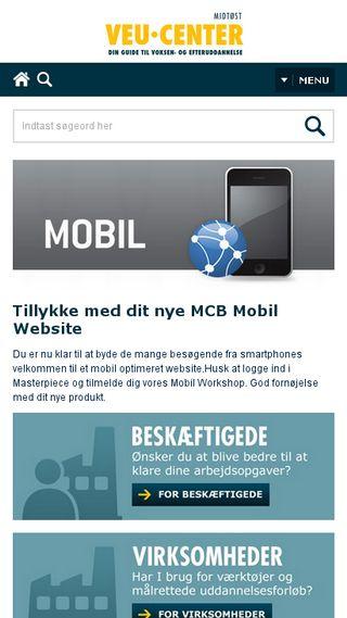 Mobile preview of veu-midtost.dk