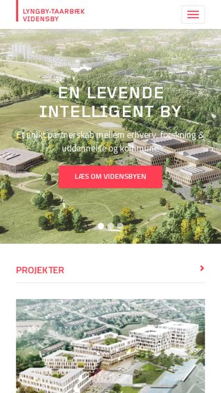 Mobile preview of vidensby.dk