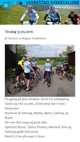 Mobile preview of vigrestad-sk.no