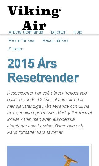 Mobile preview of vikingair.se