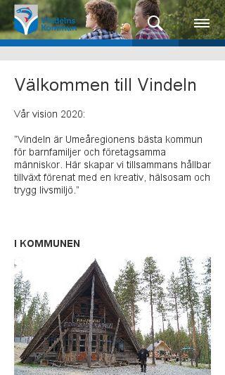 Mobile preview of vindeln.se