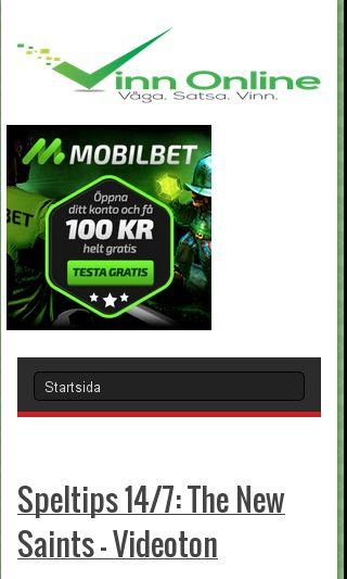 Mobile preview of vinnonline.se