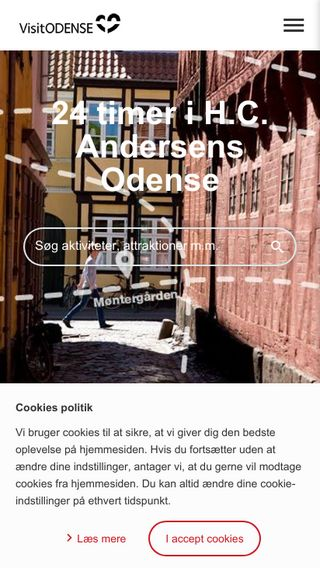Mobile preview of visitodense.dk