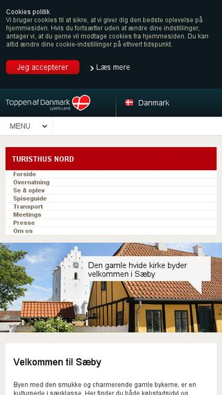 Mobile preview of visitsaeby.dk