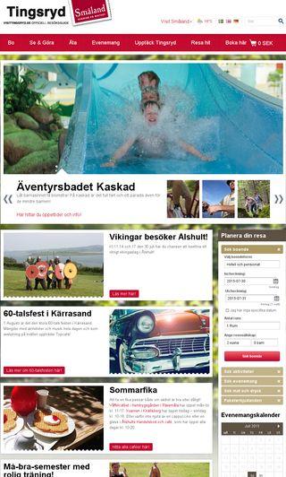 Mobile preview of visittingsryd.se
