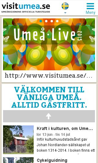 Mobile preview of visitumea.se