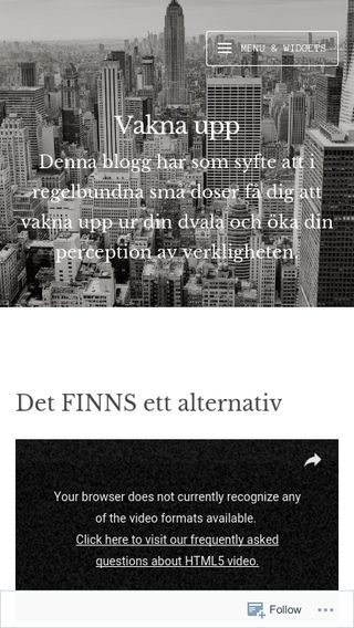 Mobile preview of vitakaninen.wordpress.com