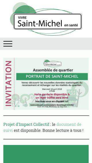 Mobile preview of vivre-saint-michel.org