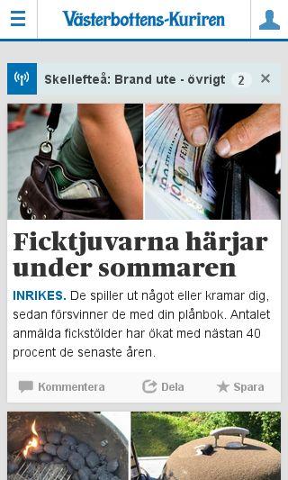 Mobile preview of svenskcykling.se