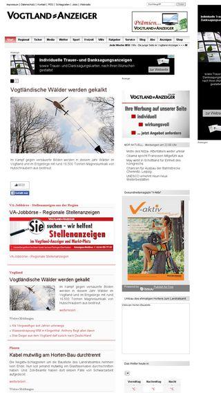 Mobile preview of vogtland-anzeiger.de