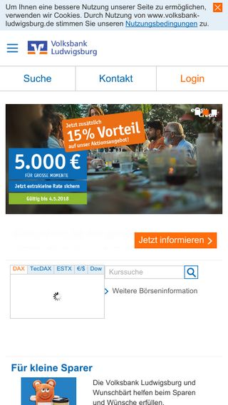 Mobile preview of volksbank-ludwigsburg.de
