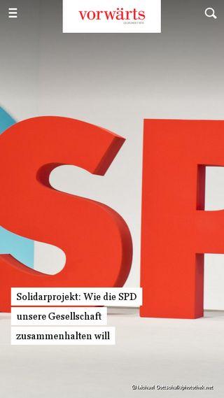 Mobile preview of spd-pocking.de