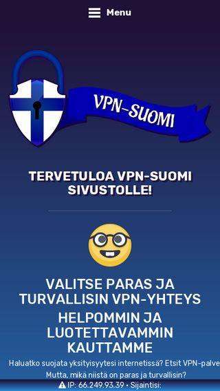 Mobile preview of vpn-suomi.fi