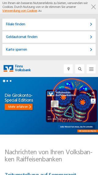 Mobile preview of vr.de