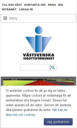 Mobile preview of vsif.se