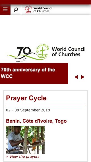 Mobile preview of wcc-coe.org