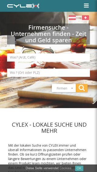 Mobile preview of web2.cylex.de
