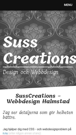 Mobile preview of webb.susscreations.se