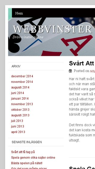 Mobile preview of webbjon.se