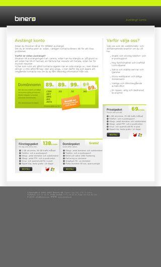 Mobile preview of webbnytt.se