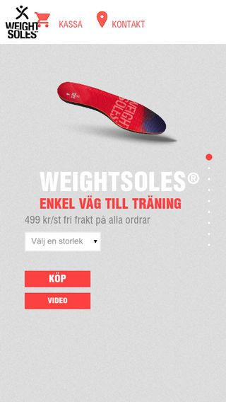 Mobile preview of weightsoles.se