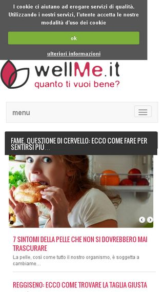 Mobile preview of wellme.it