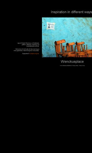 Mobile preview of wenckusplace.se