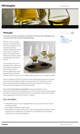 Mobile preview of whiskyglas.nu