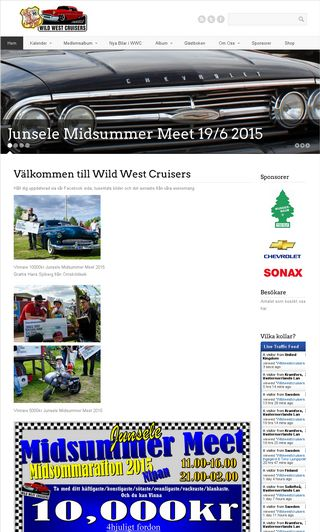 Mobile preview of wildwestcruisers.se