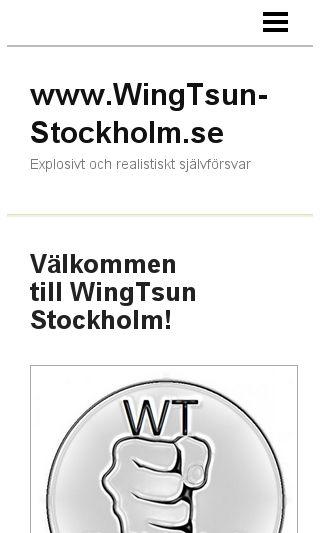 Mobile preview of wingtsun-stockholm.se