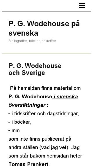 Mobile preview of wodehousebibliografier.n.nu