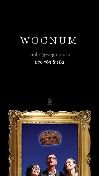 Mobile preview of wognum.se