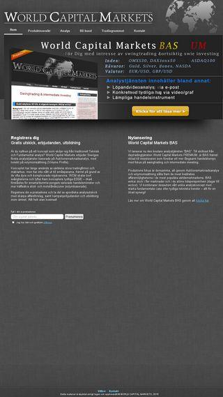 Mobile preview of worldcapitalmarkets.se