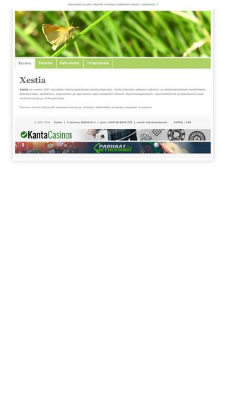 Mobile preview of xestia.net