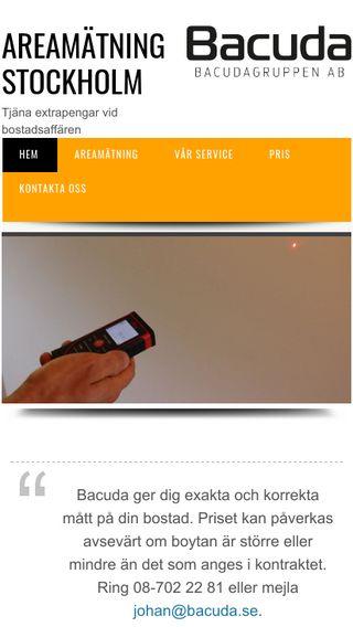 Mobile preview of areamätningstockholm.nu