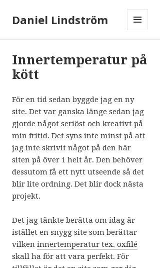 Mobile preview of daniellindström.se