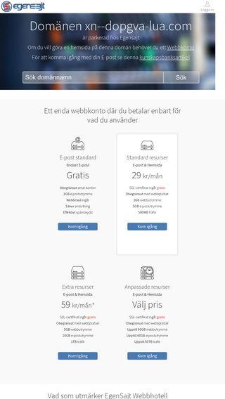 Mobile preview of dopgåva.com