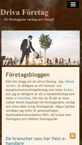 Mobile preview of driva-företag.nu