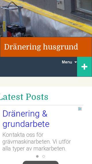 Mobile preview of dräneringhusgrund.se