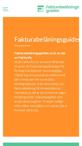 Mobile preview of fakturabelåningsguiden.se