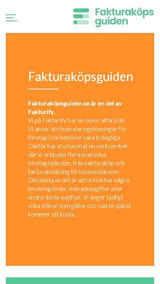 Mobile preview of fakturaköpsguiden.se