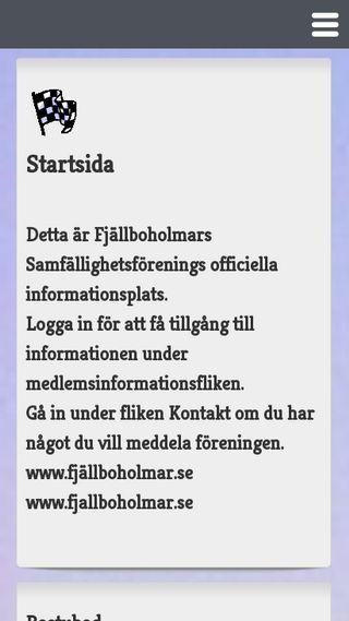 Mobile preview of fjällboholmar.se