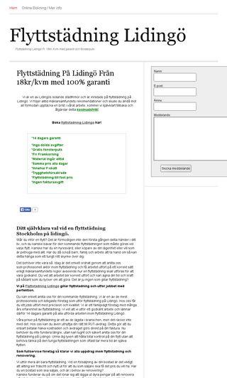 Mobile preview of flyttstädlidingö.se