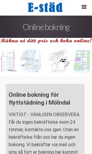 Mobile preview of flyttstädning-mölndal.se