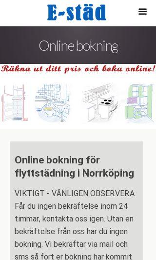 Mobile preview of flyttstädning-norrköping.se