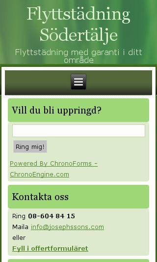 Mobile preview of flyttstädningisödertälje.se