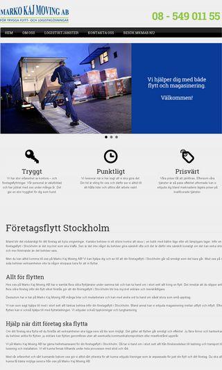 Mobile preview of företagsflyttstockholm.nu