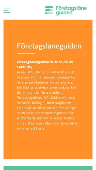 Mobile preview of företagslåneguiden.se